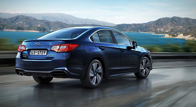2019 Subaru Legacy rear