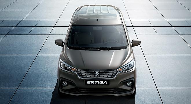 2019 Suzuki Ertiga front