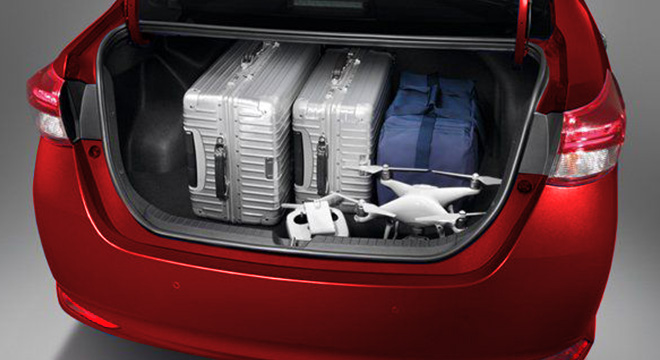 2019 Toyota Vios Philippines trunk