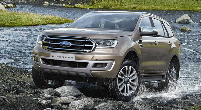 2020 Ford Everest exterior philippines
