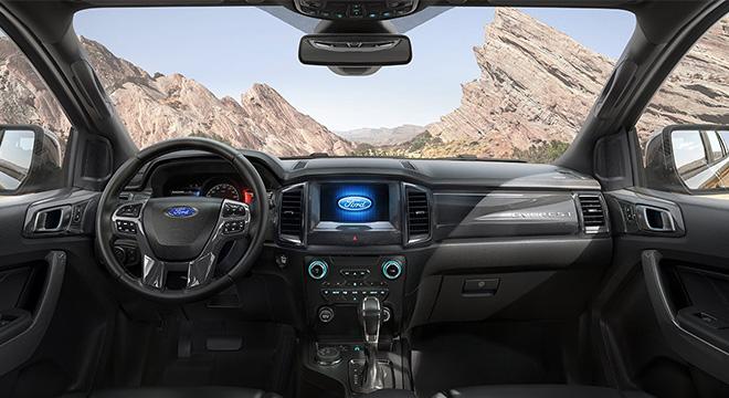 2020 Ford Everest interior philippines