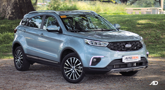 2020 Ford Territory exterior quarter front Philippines