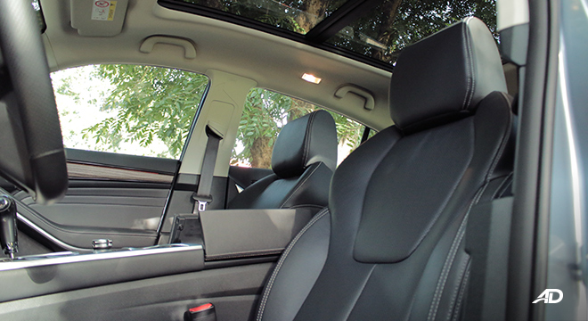 2020 Ford Territory interior front seats Philippines