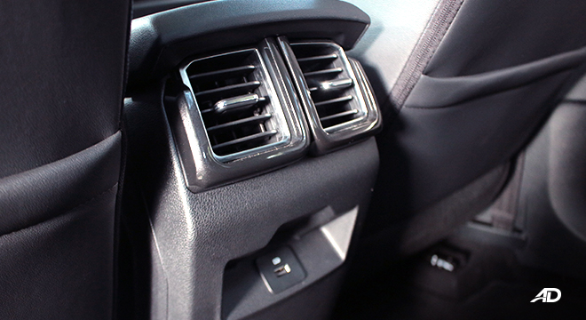 2020 Ford Territory interior rear air-vents Philippines