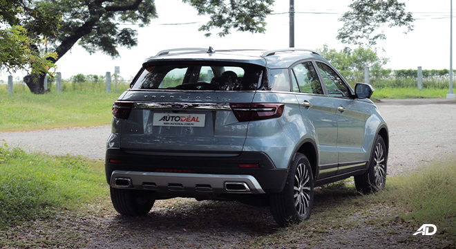 2020 Ford Territory rear front Philippines