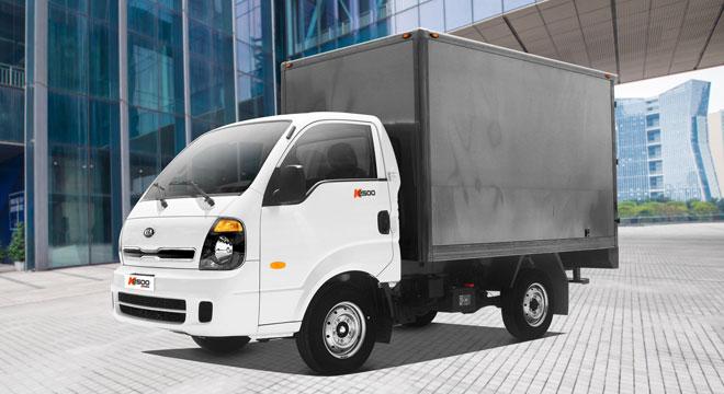 2020 Kia K2500 exterior truck