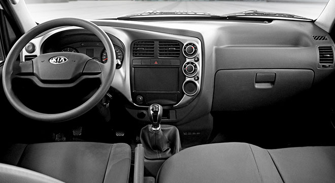 2020 Kia K2500 exterior truck dashboard