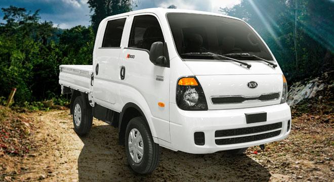 2020 Kia K2500 exterior truck dropside