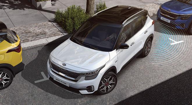 2020 Kia Seltos parking sensors