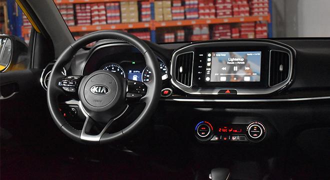2020 Kia Stonic dashboard