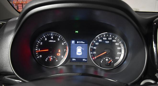 2020 Kia Stonic gauge cluster