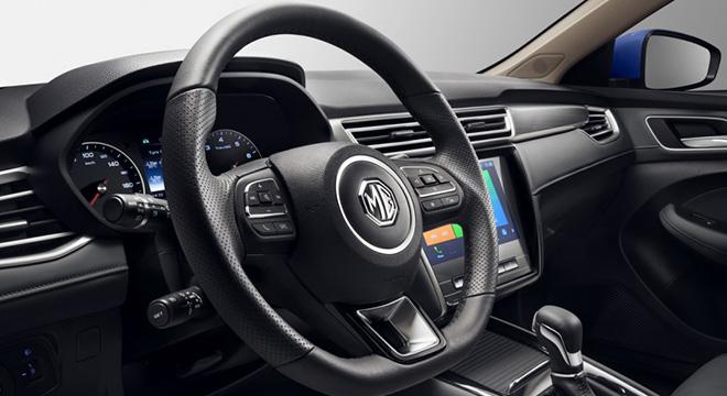 2020 MG 5 interior steering wheel