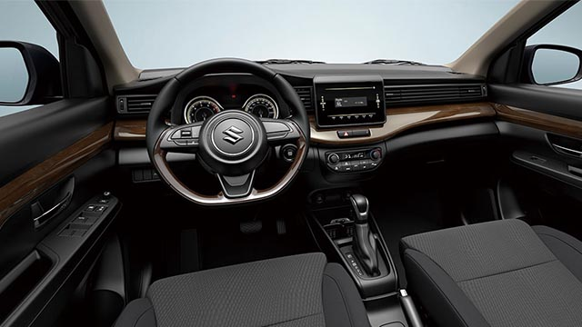 2020 Suzuki Ertiga black interior