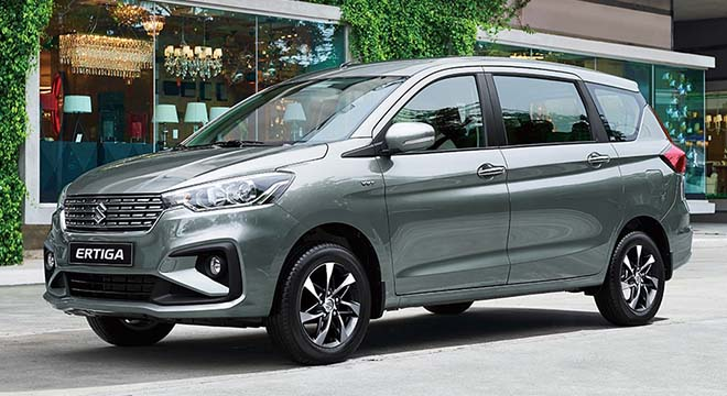 2020 Suzuki Ertiga refresh press photo