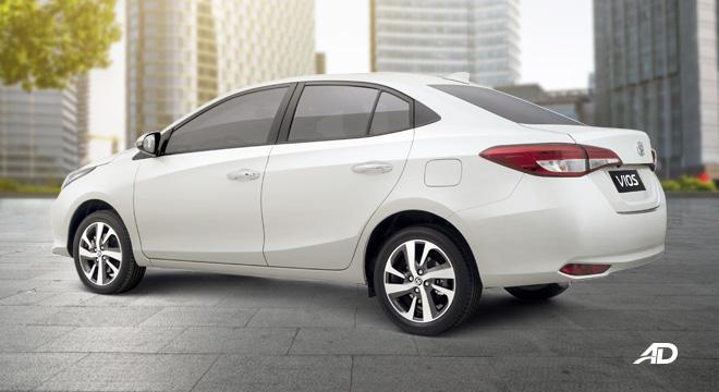 2020 Toyota Vios exterior quarter rear Philippines