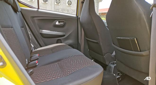 2020 Toyota Wigo TRD S rear passenger