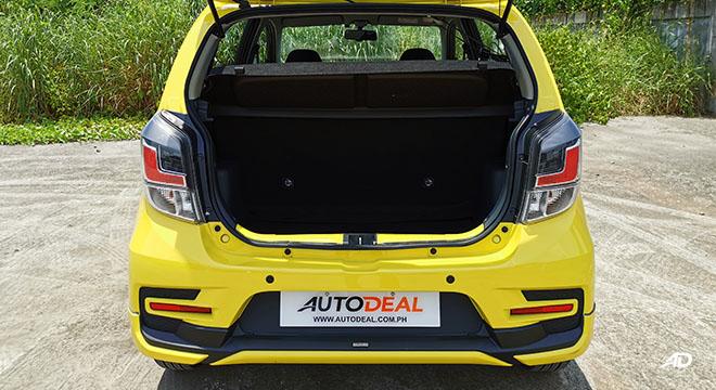 2020 Toyota Wigo TRD S  trunk