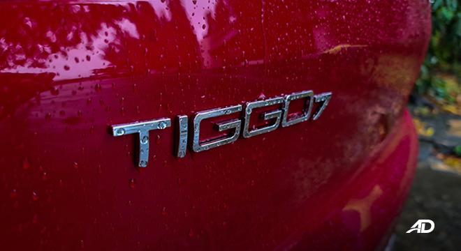 2021 Chery Tiggo 7 Pro exterior badge Philippines