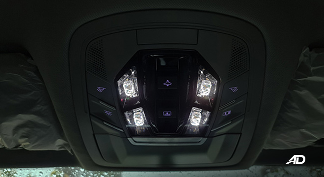 2021 Chery Tiggo 7 Pro interior map lights Philippines