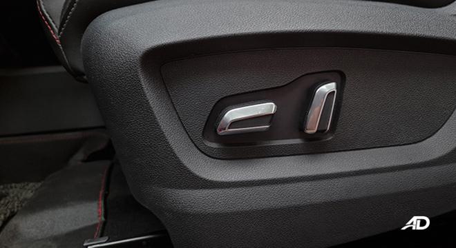 2021 Chery Tiggo 7 Pro interior power-adjustable seats Philippines