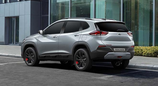 2021 Chevrolet Tracker exterior quarter rear Philippines