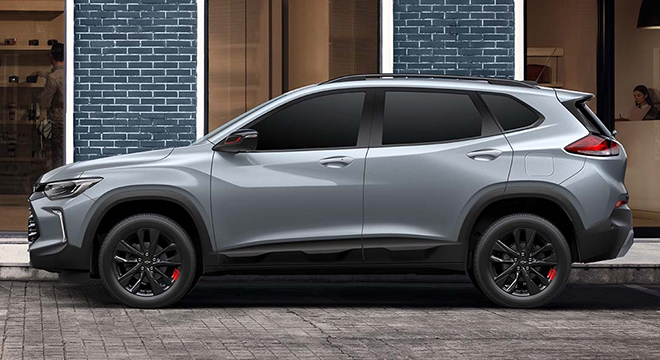 2021 Chevrolet Tracker exterior side Philippines