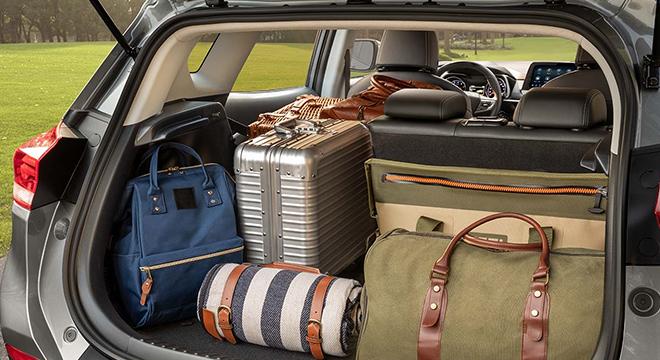 2021 Chevrolet Tracker interior cargo Philippines