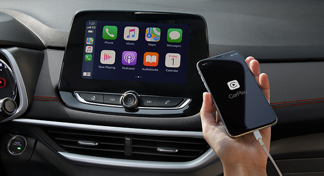 2021 Chevrolet Tracker interior infotainment system Philippines
