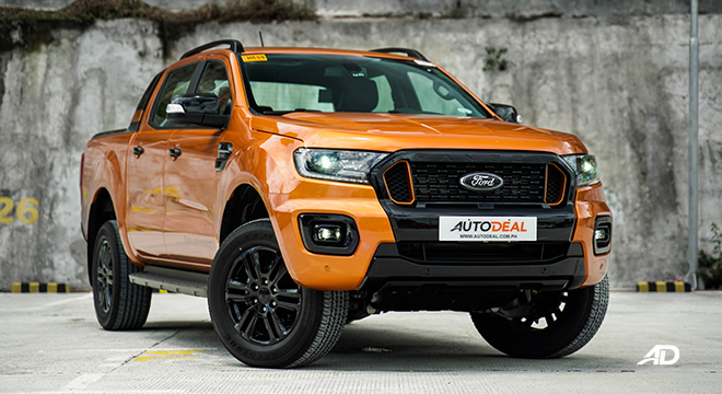 2021 Ford Ranger Wildtrak refresh