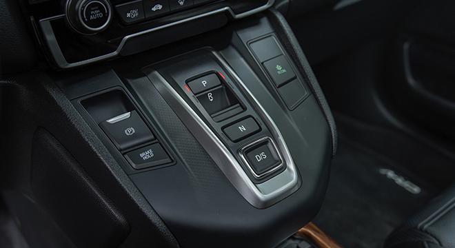 2021 Honda CR-V gearless shifter