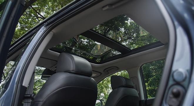 2021 Honda CR-V panoramic sun roof