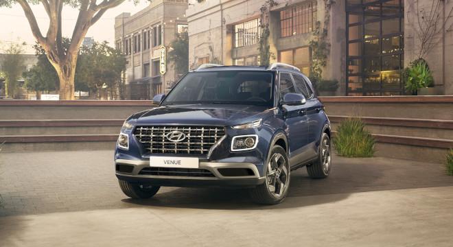 2021 Hyundai Venue Philippines Exterior Front Quarter Blue