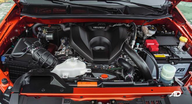 2021 Isuzu D-MAX Philippines 3.0-liter diesel engine