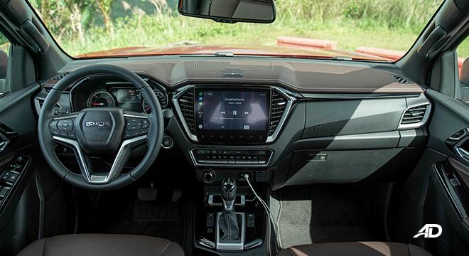 2021 Isuzu D-MAX Philippines Interior dashboard