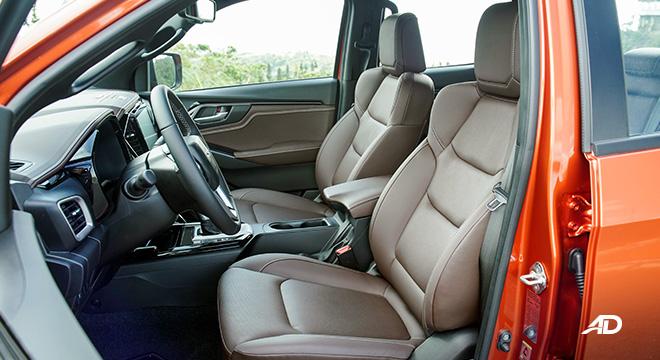 2021 Isuzu D-MAX Philippines interior driver's seat
