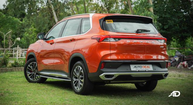 2021 Maxus D60 Philippines exterior rear quarter