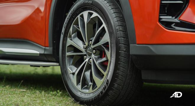 2021 Maxus D60 Philippines wheels