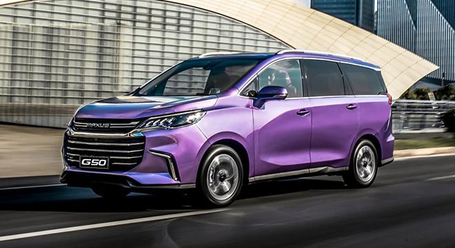 2021 Maxus G50 exterior quarter front Philippines