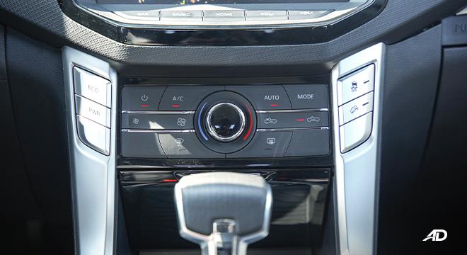 2021 Maxus T60 interior controls Philippines