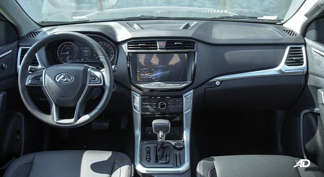 2021 Maxus T60 interior dashboard Philippines