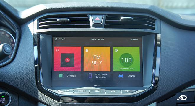 2021 Maxus T60 interior infotainment system Philippines