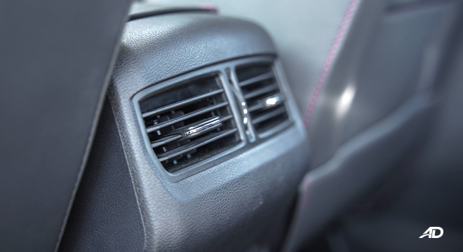 2021 Maxus T60 interior rear air-vents Philippines