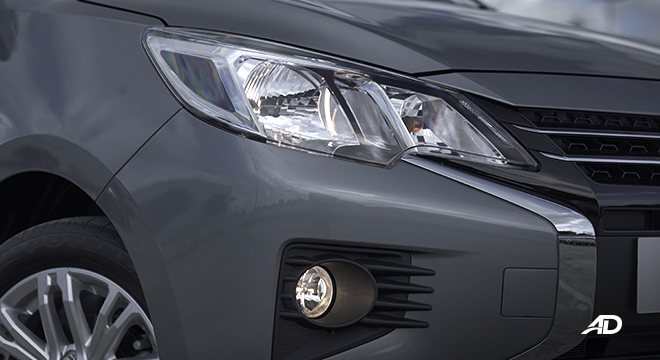 2021 Mitsubishi Mirage G4 exterior headlights Philippines