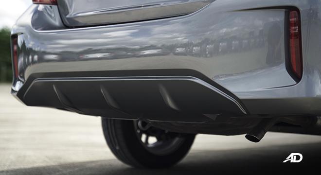 2021 Mitsubishi Mirage G4 exterior rear bumper Philippines