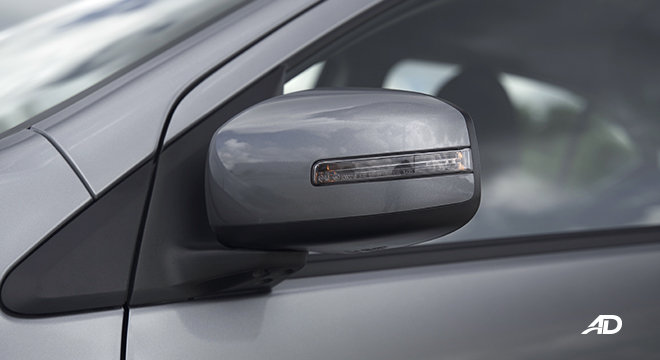 2021 Mitsubishi Mirage G4 exterior side mirrors Philippines