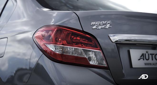 2021 Mitsubishi Mirage G4 exterior taillight Philippines