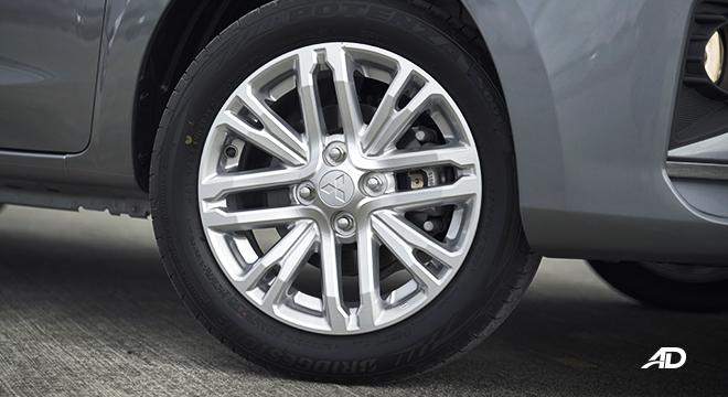 2021 Mitsubishi Mirage G4 exterior wheels Philippines