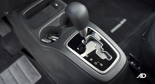 2021 Mitsubishi Mirage G4 interior gear shifter Philippines