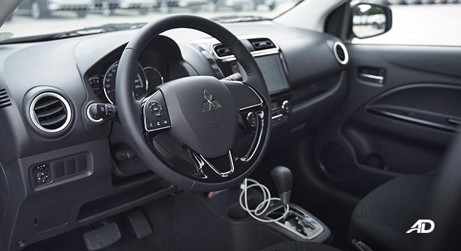 2021 Mitsubishi Mirage G4 interior Philippines