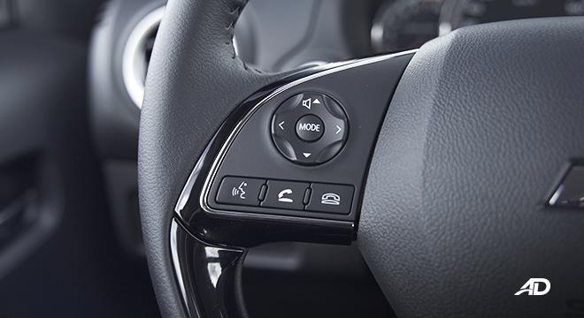 2021 Mitsubishi Mirage G4 interior steering wheel controls Philippines